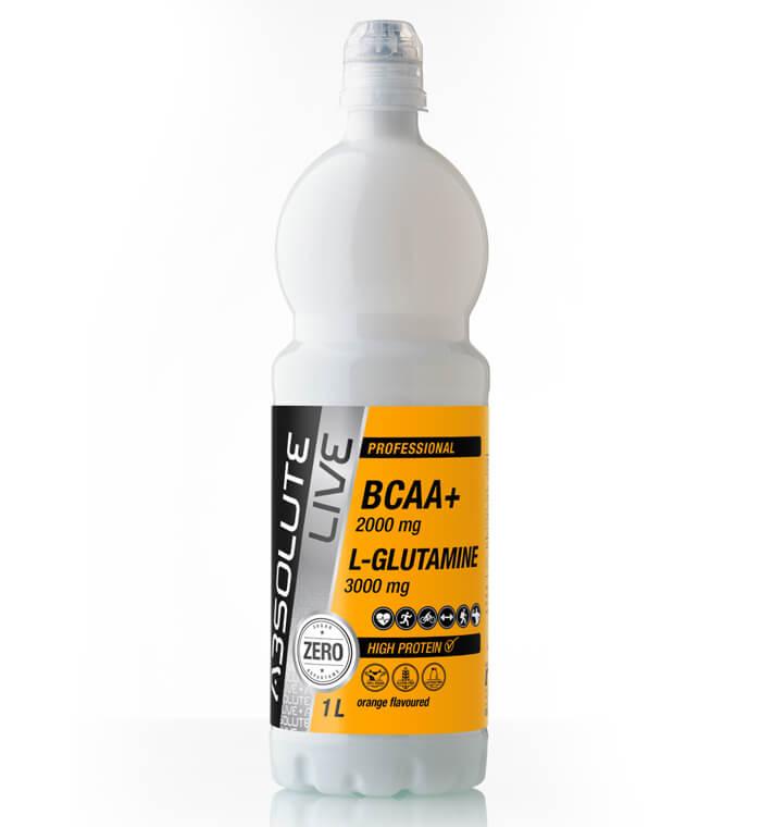 BCAA+Glutamin orange